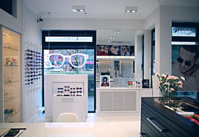 Oświetlenie Salon Optyczny Police