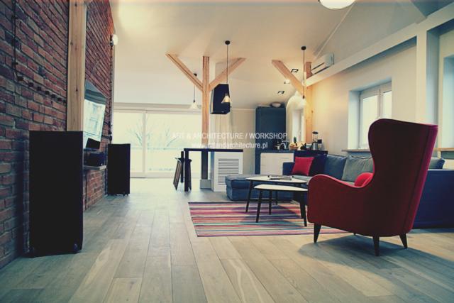 Lampy wewnętrzne w apartamencie